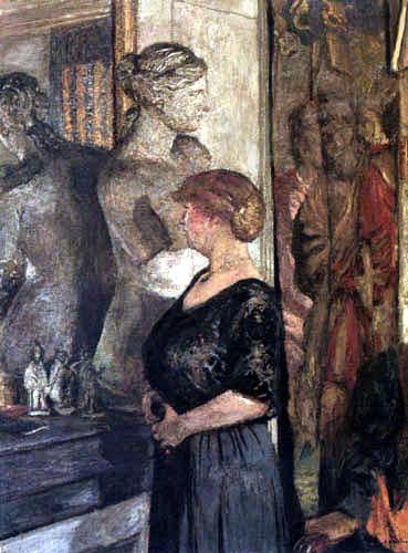 Edouard Vuillard - Madame Val Synave in the apartment in the Rue de Calais