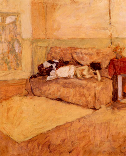 Edouard Vuillard - Model in the Studio
