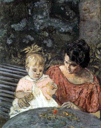 Edouard Vuillard - Mother and Child