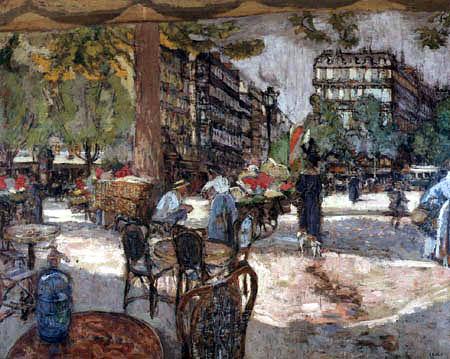 Edouard Vuillard - Place St Augustin