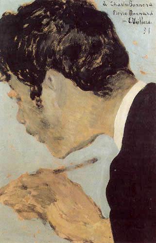Edouard Vuillard - Portrait of Pierre Bonnard