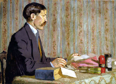 Edouard Vuillard - Portrait de Rene Blum