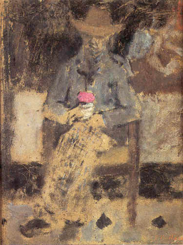 Edouard Vuillard - Portrait of Felix Vallotton
