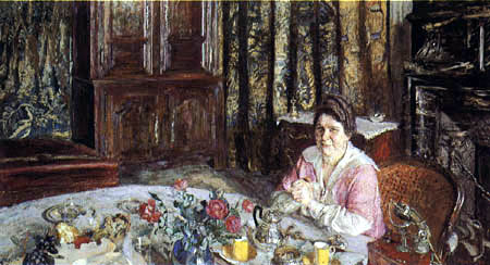 Edouard Vuillard - Portrait Madame Vaquez