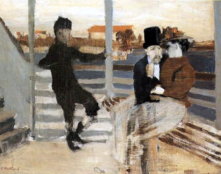 Edouard Vuillard - On the Seine - In the steamer