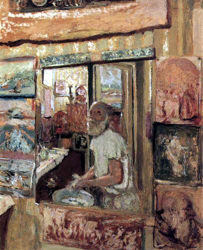 Edouard Vuillard - Selfportrait in the Rue de Calais
