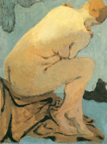 Edouard Vuillard - Seated Nude
