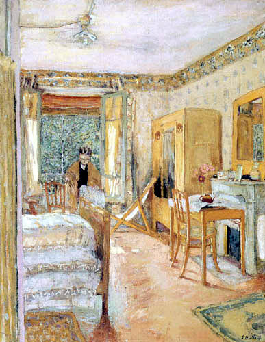 Edouard Vuillard - Una habitación soleada
