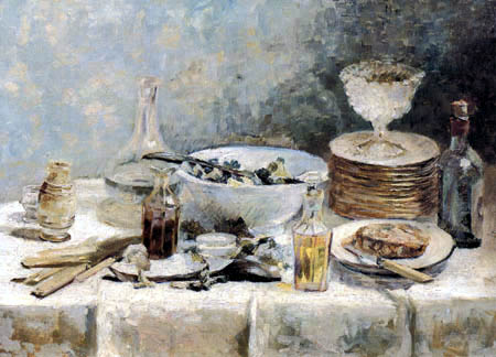Edouard Vuillard - Still life with salad bowl