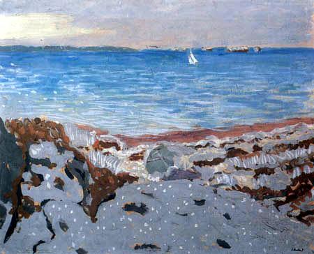Edouard Vuillard - Plage à Saint-Jacut