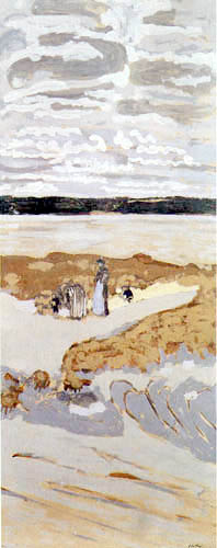 Edouard Vuillard - Beach at Saint Jacut