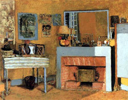 Edouard Vuillard - Vuillard's room in the castle Clayes