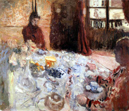 Edouard Vuillard - Deux femmes à la table