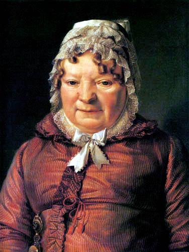 Ferdinand Georg Waldmüller - Die Mutter des Hauptmanns von Stierle-Holzmeister
