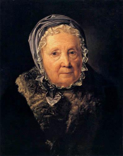 Ferdinand Georg Waldmüller - Retrato de Rosina Wiser