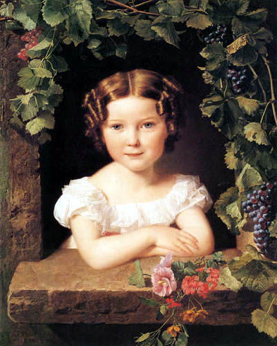 Ferdinand Georg Waldmüller - Young girl
