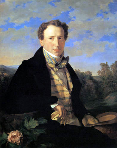 Ferdinand Georg Waldmüller - Selbstbildnis