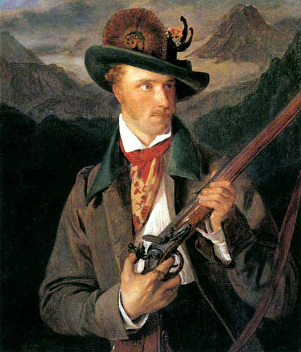 Ferdinand Georg Waldmüller - Ein tiroler Schütze