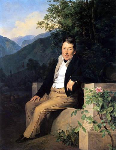 Ferdinand Georg Waldmüller - Freiherr von Moser