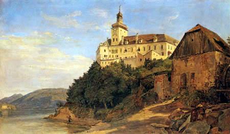 Ferdinand Georg Waldmüller - Schloss Persenbeug