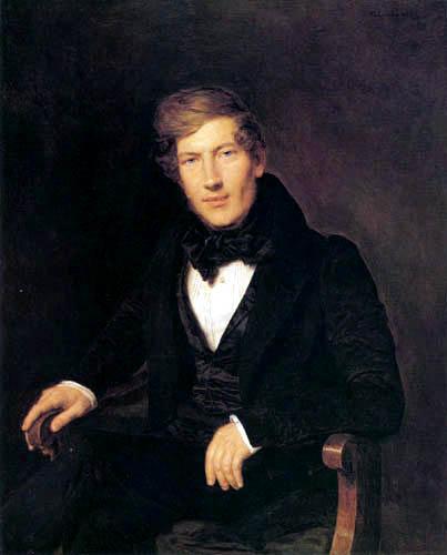 Ferdinand Georg Waldmüller - Bildnins Anton Mayer