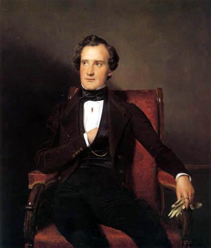 Ferdinand Georg Waldmüller - Der Schauspieler Carl Wilhelm Lucas