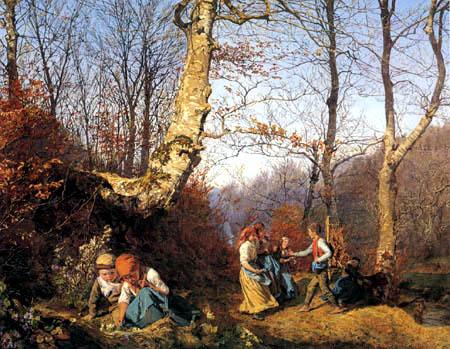 Ferdinand Georg Waldmüller - Kinder im Wiener Wald