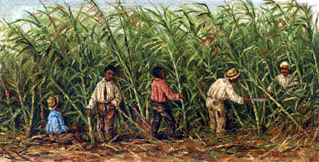 William Aiken Walker - Sugar Cane Cutting