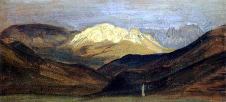 Friedrich Wasmann - Gebirge bei Bozen