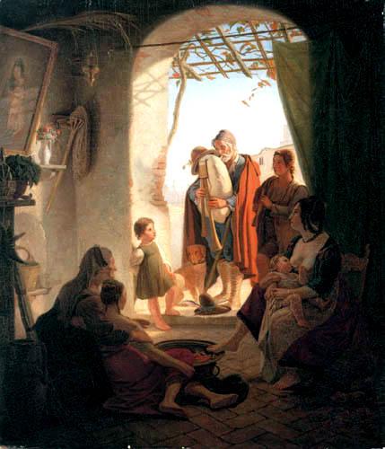 Friedrich Wasmann - Neapolitanischer Dudelsackpfeifer