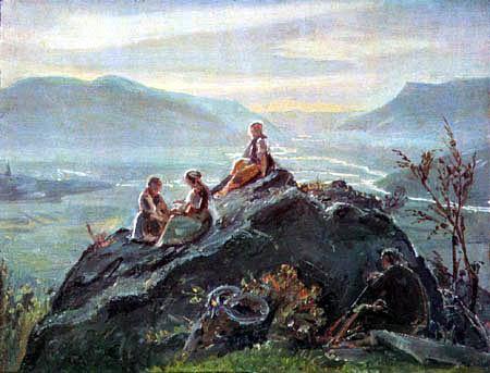 Friedrich Wasmann - View of the Etschtal
