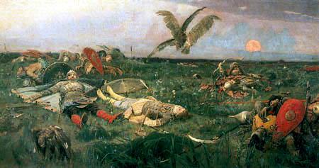 Wiktor Michajlowitsch Wasnezow - Nach der Schlacht