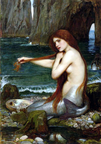 John William Waterhouse - The mermaid
