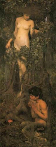 John William Waterhouse - A Hamadryad