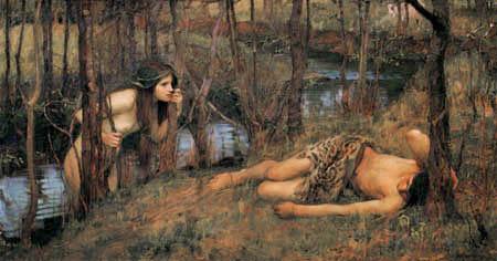 John William Waterhouse - Ninfa