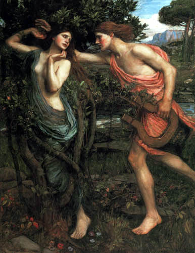 John William Waterhouse - Apollo and Daphne