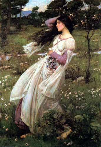 John William Waterhouse - Windflowers