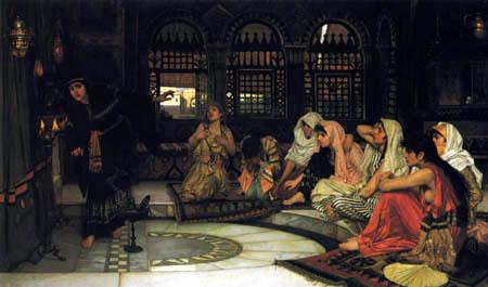 John William Waterhouse - Consultar el oráculo