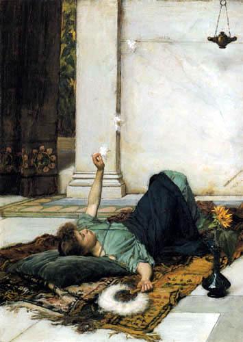 John William Waterhouse - Dolce Far Niente