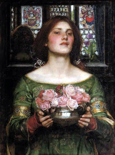 John William Waterhouse - Gather Ye Rosebuds While Ye May
