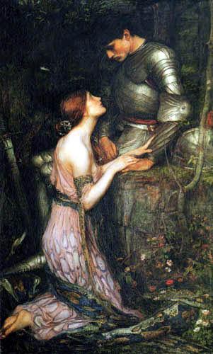 John William Waterhouse - Lamia