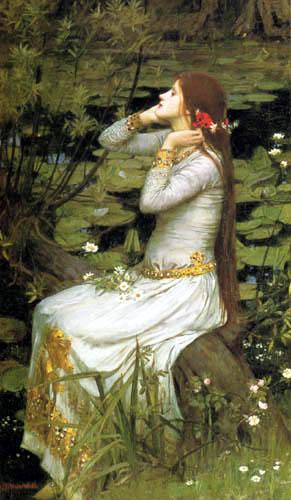 John William Waterhouse - Ofelia