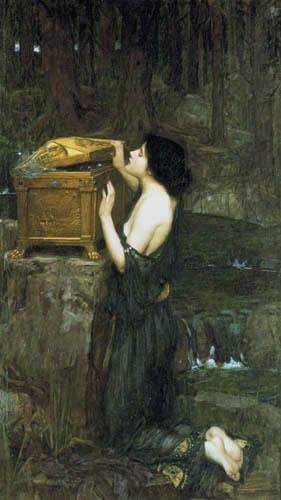 John William Waterhouse - Pandora's box