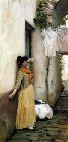 John William Waterhouse - Descanso