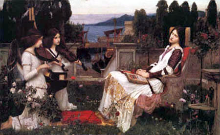 John William Waterhouse - Saint Cecilia