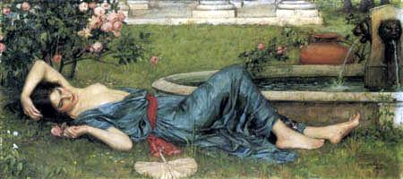 John William Waterhouse - Sweet Summer