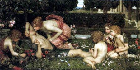 John William Waterhouse - The Awakening of Adonis
