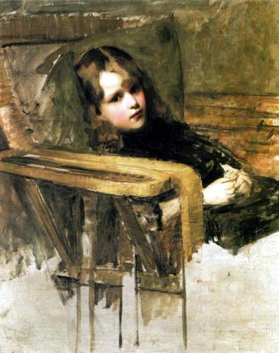 John William Waterhouse - The Easy Chair