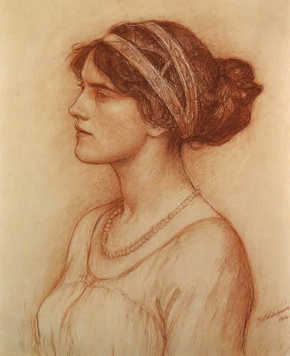 John William Waterhouse - The Marchioness of Downshire