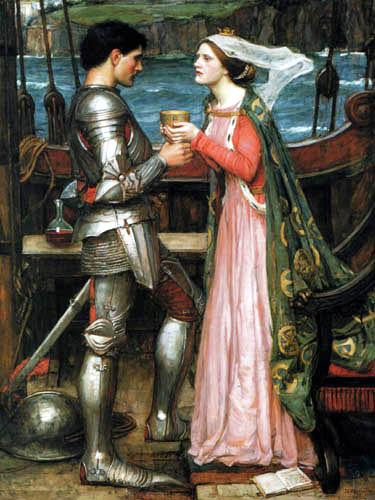 John William Waterhouse - Tristán e Isolda